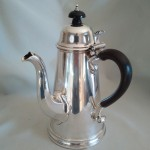 Sterling Silver Coffee / Chocolate Pot