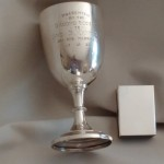 Sterling Silver Goblet / Kiddish Cup