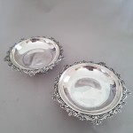 Pair of Silver Bowls
